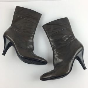 Nine West Gray/Brown Boots
